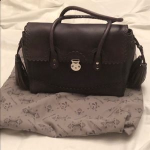 Grey Isabella Fiore satchel bag - never used.